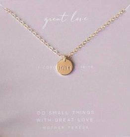 Dear Heart Designs Great Love - 14kt Gold Fill Necklace