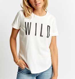 Sol Angeles Wild White Slit Tee