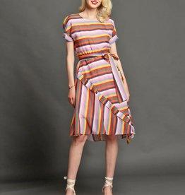 Eva Franco Carnival Stripes Asby Dress