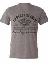 August Bleu Harvest Season Grey T Shirt