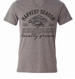 August Bleu Harvest Season Grey T Shirt