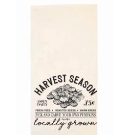 August Bleu Harvest Season Tea Towel