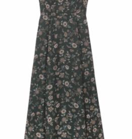 Gal Meets Glam Dark Green Maxi Jewel Neck Dress