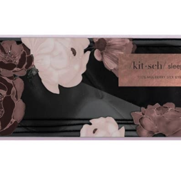 Kitsch Black Silk Eye Mask