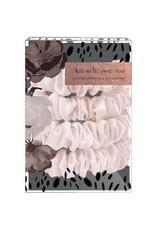 Kitsch Blush Silk Scrunchies