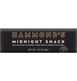 Hammond's Candies Midnight Snack Milk Chocolate Candy Bar