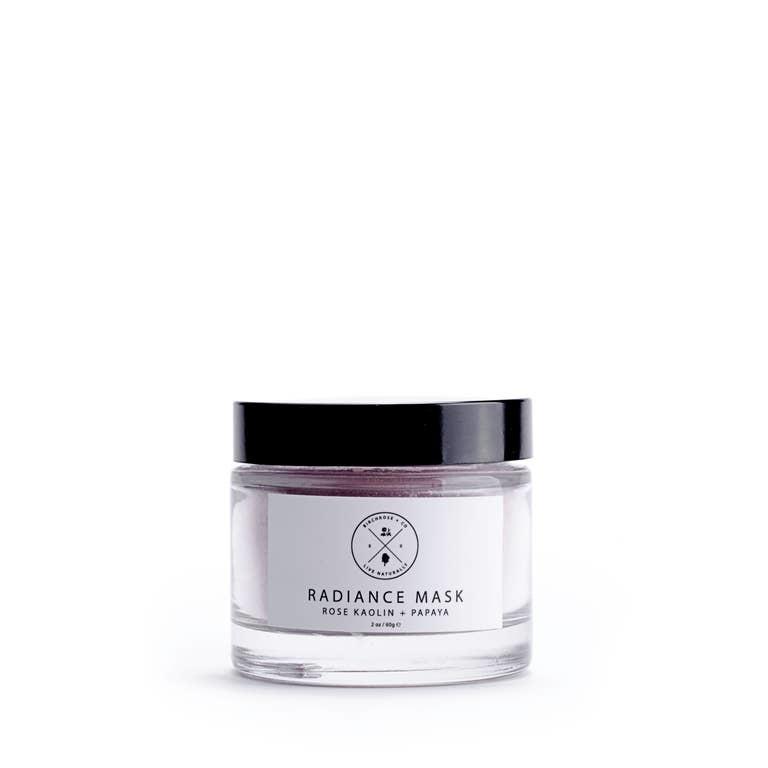 Birchrose + Co. Radiance Mask: Rose Kaolin + Papaya