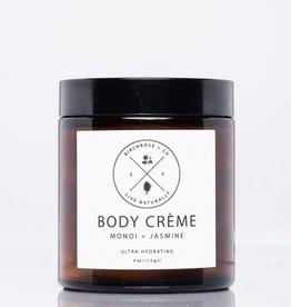 Birchrose + Co. Body Creme: Monoi + Jasmine
