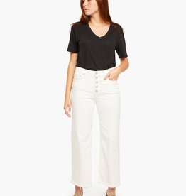 Able The Wide Leg Cropped: Clara Wash