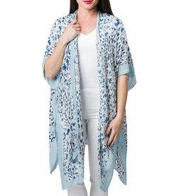 Michelle Blue Kimono