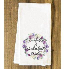 Mint Elephant Apparel Fearfully & Wonderfully Made Tea Towel
