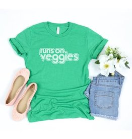 BrvoTees Runs On Veggies TShirt