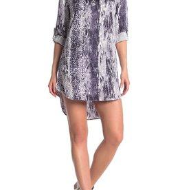 Velvet Heart Aveline Indigo Popover Tunic Dress
