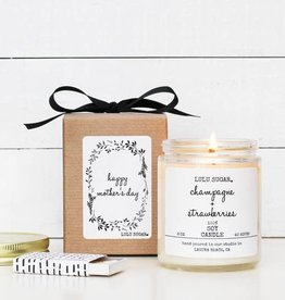 Lulu Sugar 8 oz Happy Mother's Day Soy Candle