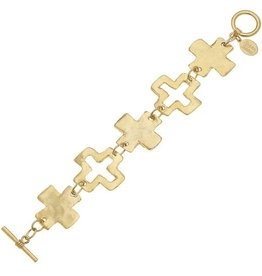 Susan Shaw Gold Toggle Bracelet