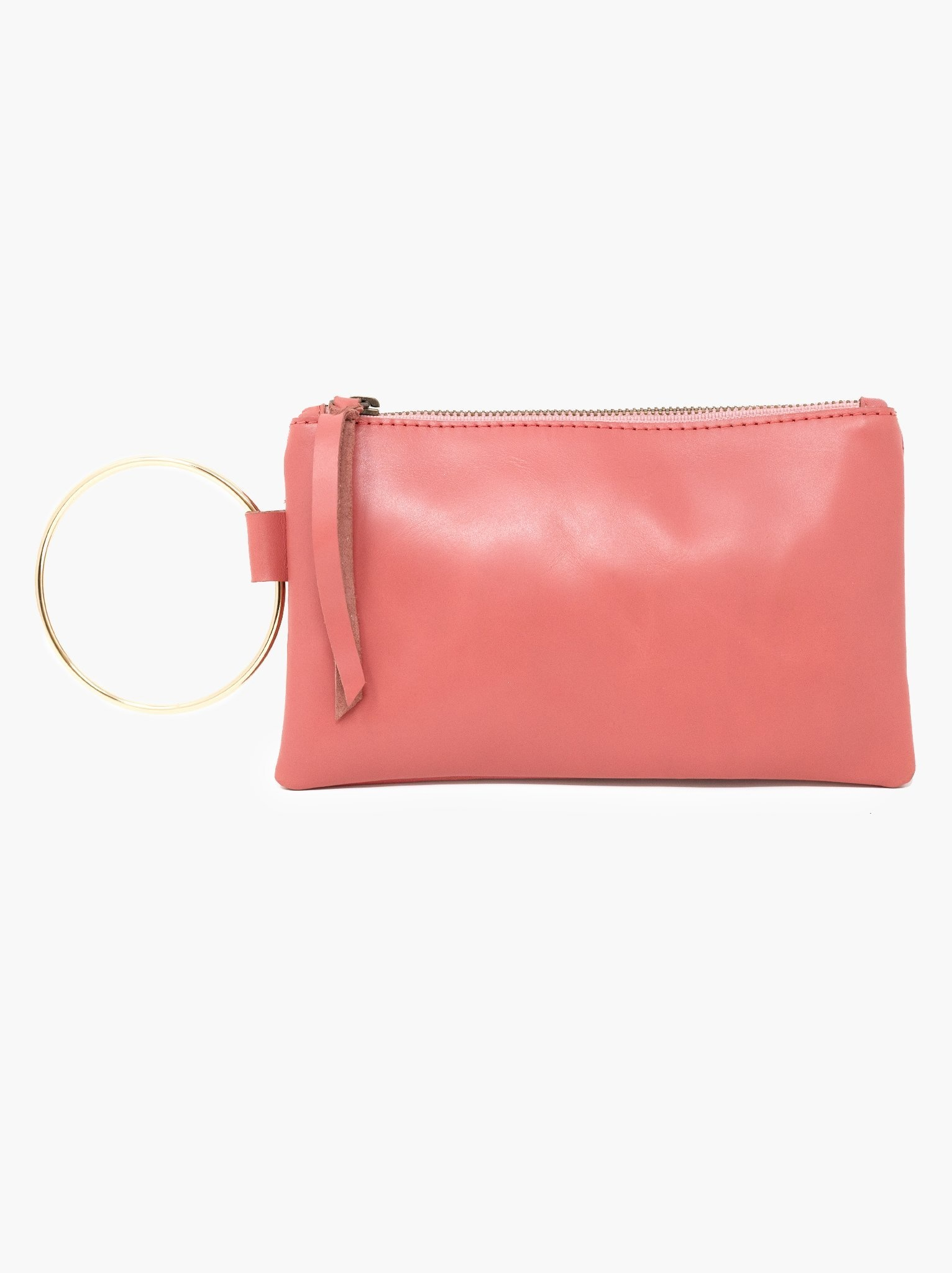 Able Fozi Wristlet - Rose Metallic