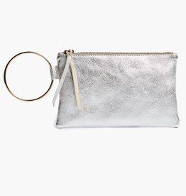 Able Fozi Wristlet - Silver Metallic