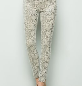 See And Be Seen Off White Snake Print Leggings