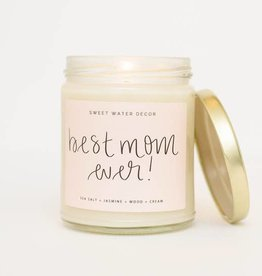 Sweet Water Decor Best Mom Ever Soy Candle