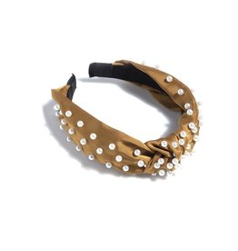 Shiraleah Coffee Pearl Headband