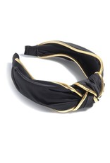 Shiraleah Black Turban Headband