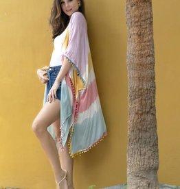 Shiraleah Malena Tie Dye Kimono