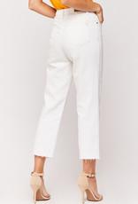 Velvet Heart Mavi Pearl White 5 Pocket High Rise Jeans