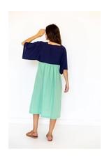 Lazybones Maise Mint Organic Cotton Dress