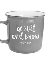 Sweet Water Decor Be Still & Know Campfire Coffee Mug
