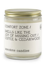 Anecdote Candles Comfort Zone Glass jar Candle
