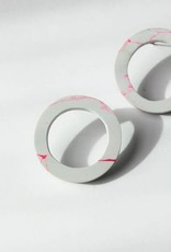 Rover & Kin Clay Circle Earrings
