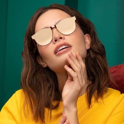 Freyrs Leo Gold Sunglasses