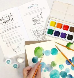 Wildflower Art Studio Watercolor Kit