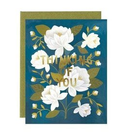 One Canoe Two Raleigh Floral Friendship Card