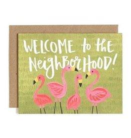 One Canoe Two Flamingo Neighborhood Card