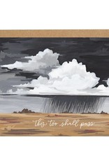 One Canoe Two Storm Sympathy Card