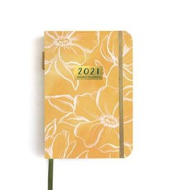 One Canoe Two Petite Golden Poppy Weekly Planner