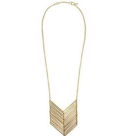 Purpose Chevron Necklace
