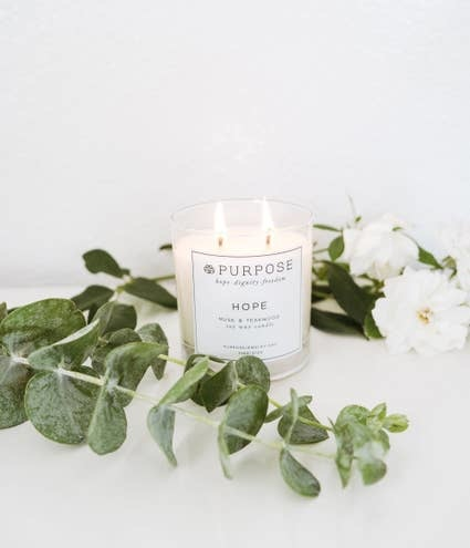 Purpose Hope Candle