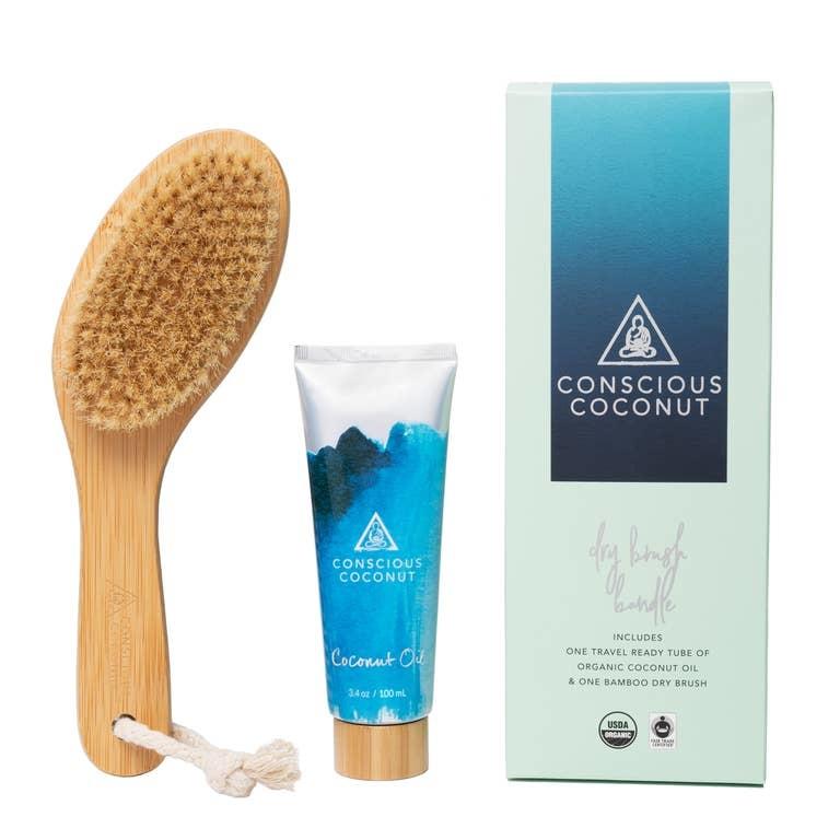 Conscious Coconut Dry Brush Bundle