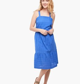 Able Savita Blue Apron Dress
