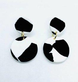 No Shrinking Violet Medium Helsinki Earrings