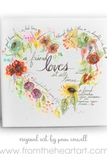 From The Heart Art Friend Heart Ceramic Tiles