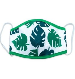 Woven Pear Monstera Face Mask