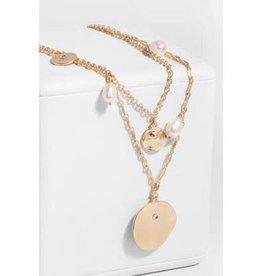 Saachi Layered Medallion Necklace