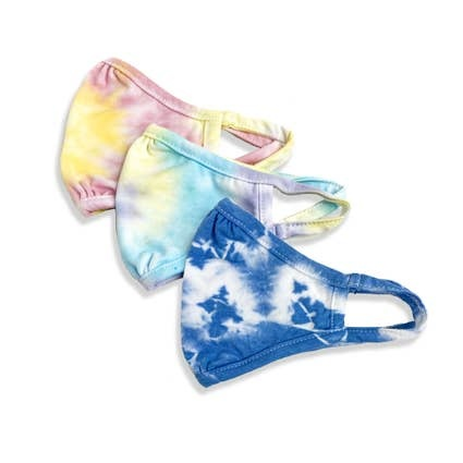 Port 213 Kids Eco-friendly Tie Dye Face Masks