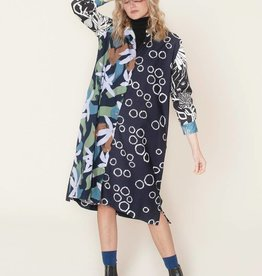 Nancybird Splice Gibson Shirt Dress