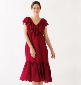 Lazybones Sangria Celeste Dress