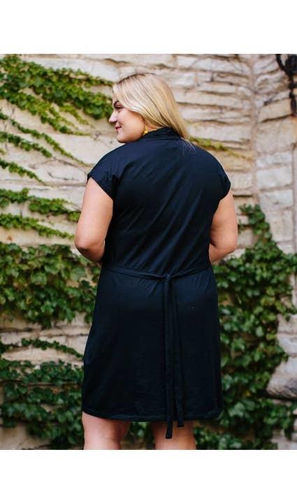 Mata Traders Black Midtown Dress