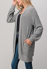 Natural Life Heather Grey Cardigan